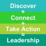 Discover + Connect + Take Action = Leadership